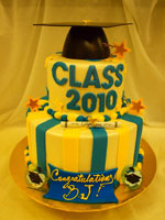 Will C. Wood High School Graduation Cake