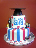 Fairfield High School Graduation Cake