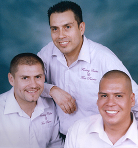 Brothers Fernando, Leo, and Victor Renteria