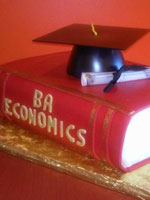Vanden High School Graduation Cake